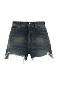 Denim shorts, Denim Shorts Saint Laurent woman