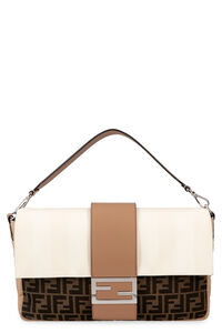 Baguette messenger fabric bag, Messenger bags Fendi man