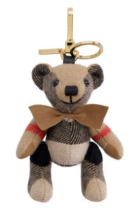 Thomas Vintage check teddy-bear key holder, Keyrings Burberry woman