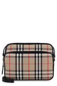 Checkered canvas camera bag, Shoulderbag Burberry woman