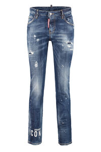 Cool Girl 5-pocket jeans, Skinny Leg Jeans Dsquared2 woman