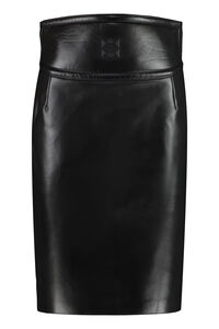 Leather skirt, Leather skirts Givenchy woman