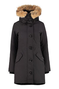 Rossclair hooded parka, Down Jackets Canada Goose woman