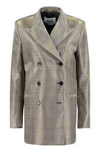 Prince of Wales double breasted jacket, Blazers MSGM woman
