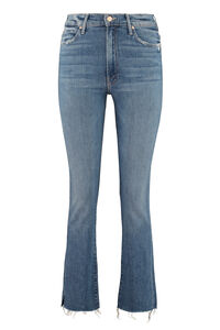 High Waisted Rascal Ankle Snip 5-pocket jeans, Straight Leg Jeans Mother woman