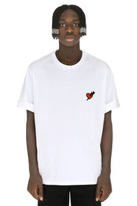 Crew-neck cotton T-shirt, Short sleeve t-shirts Neil Barrett man