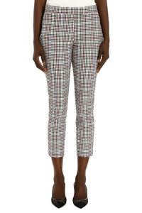 Stretch fabric cropped trousers, Trousers suits MICHAEL MICHAEL KORS woman
