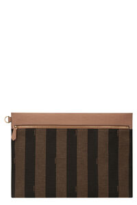 Canvas flat pouch, Poches Fendi man