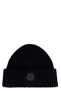 Ribbed knit beanie, Hats Moncler man