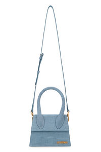 Le Chiquito Moyen suede handbag, Top handle Jacquemus woman