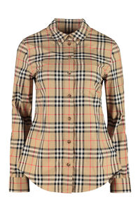 Stretch poplin shirt, Shirts Burberry woman