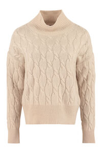 Ramo wool and cashmere sweater, Turtleneck sweaters Max Mara Studio woman