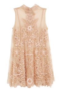 Embroidered tulle dress, Mini dresses Red Valentino woman