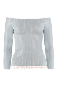 La maille Estello tight top, Off the Shoulder Jacquemus woman