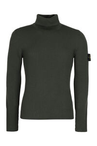 Ribbed turtleneck sweater, Turtleneck Stone Island man