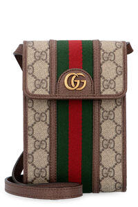 Ophidia messenger bag in GG Supreme fabric, Messenger bags Gucci man