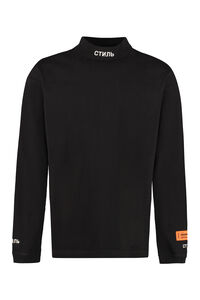 Long sleeve cotton t-shirt, Long sleeve t-shirts Heron Preston man