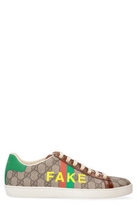 Ace Fake-Not print sneakers, Low Top sneakers Gucci woman