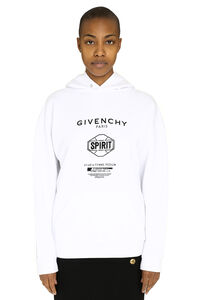 Cotton sweatshirt with printed logo, Hoodies Givenchy woman