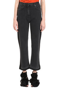 Side stripe cropped jeans, Cropped Jeans McQ Alexander McQueen woman