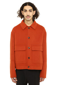 Wool and cashmere jacket, Overcoats AMI man