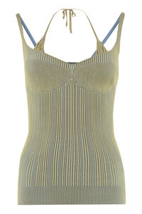 Valensole ribbed knit top, Tanks and Camis Jacquemus woman