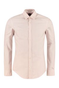Giamma long sleeve cotton blend shirt, Striped Shirts BOSS man