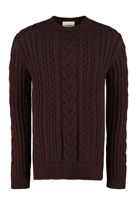 Virote cable knit pullover, Crew necks sweaters Nanushka man