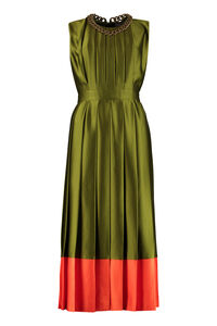 Pleated midi dress, Midi dresses MSGM woman