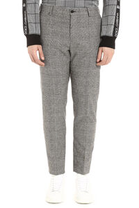 Prince of Wales check wool trousers, Formal trousers Dolce & Gabbana man