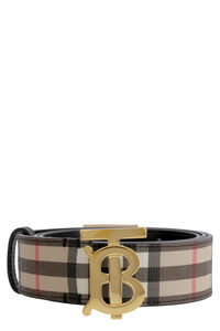 Canvas belt with logo, Belts Burberry woman