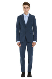 Techno fabric two-piece suit, Suits Prada man
