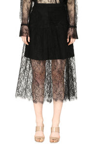 Lace midi skirt, Midi skirts Self-Portrait woman