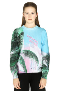 Printed cotton-blend sweater, Patterned sweaters Boutique Moschino woman