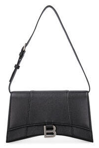 Hourglass leather bag, Top handle Balenciaga woman