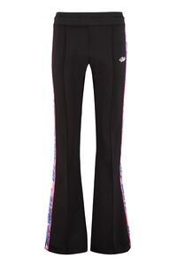 Contrasting side stripes flared track-pants, Track Pants Off-White woman
