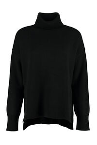 Wool and cachemire turtleneck pullover, Turtleneck sweaters Parosh woman