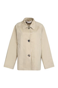 Cotton-linen blend jacket, Raincoats And Windbreaker Marni woman