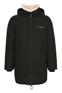 Padded parka with hood, Parkas Off-White man
