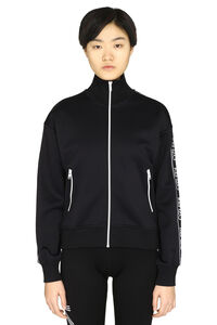 Full zip sweatshirt with side stripes, Zip-up sweatshirts Kenzo woman