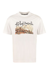 Printed cotton T-shirt, Short sleeve t-shirts Palm Angels man