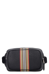 Printed leather belt bag, Beltbag Burberry man
