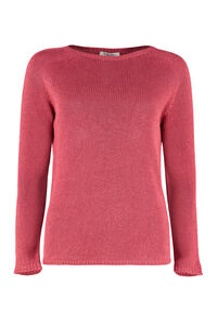 Giolino linen sweater, Crew neck sweaters S Max Mara woman