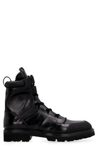 Leather lace-up boots, Lace-up boots RARE man