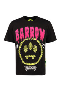 Printed cotton T-shirt, For Singles' Day, TheCorner.com is offering a 30% discount on your favourite brands Barrow woman