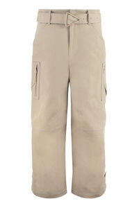 Cotton cargo-trousers, Wide leg pants Bottega Veneta woman