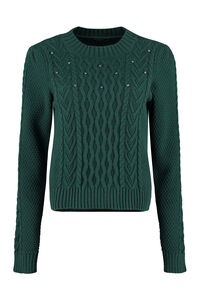 Ennio cable knit pullover, Crew neck sweaters Weekend Max Mara woman