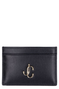 Umika smooth leather card holder, Wallets Jimmy Choo woman