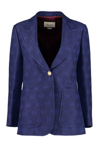 Single-breasted two-button blazer, Blazers Gucci woman