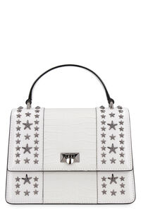 Pyxis crocodile print leather handbag, Top handle Jimmy Choo woman